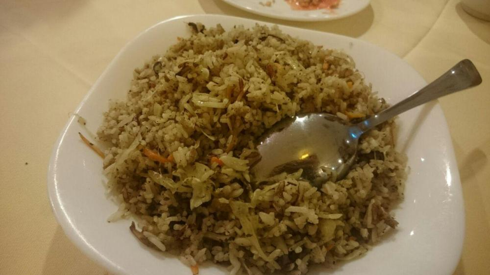 Fried Rice With Olive Vegetable Sauce, 橄菜炒饭