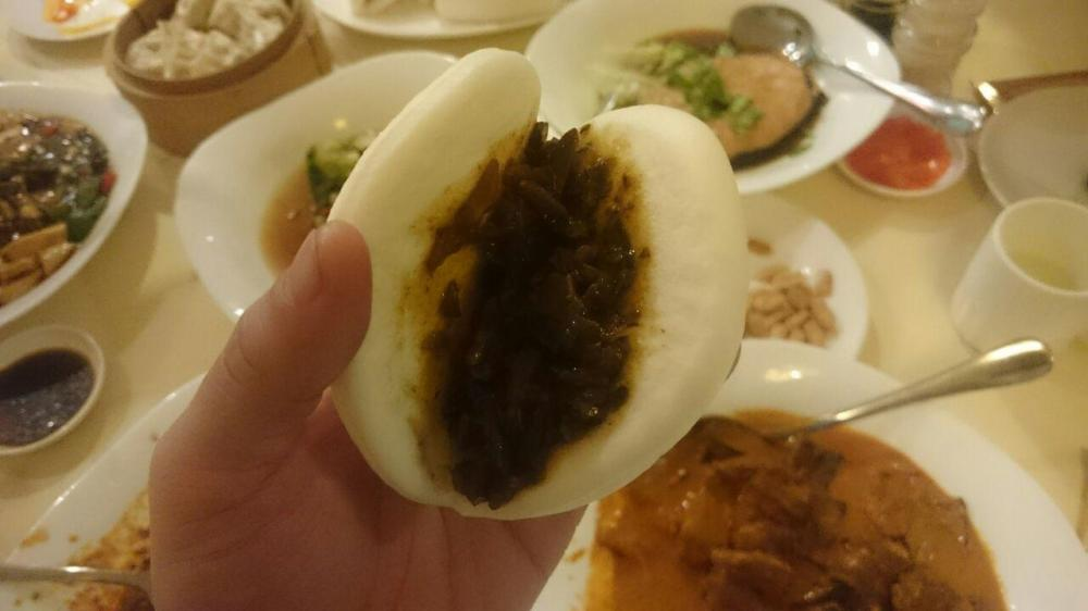 Steamed Braised Pork Bun, 扣肉包