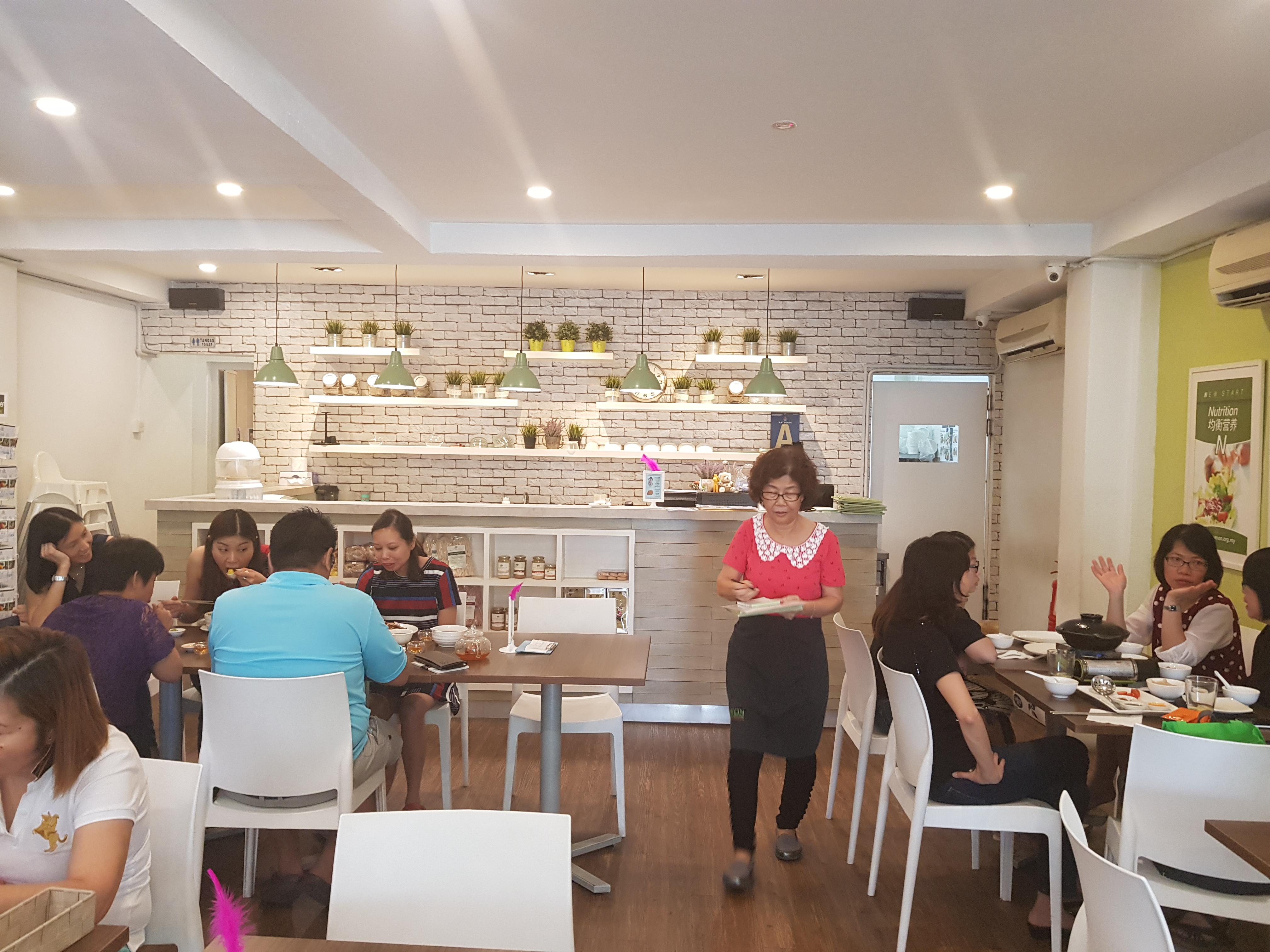 AENON The Health Kitchen – Journey of Vegyuan